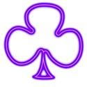 Clubs purple