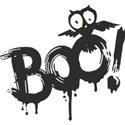 BOO Word Art