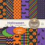 Halloween Papers with Labels