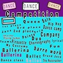 dance competition wordart