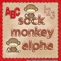 sock monkey alpha preview [blog preview]