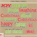 cwJOY-ChristmasCarols-word art preview