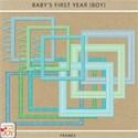 cwJOY-Baby1stYear-Boy-frames preview