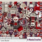 Love Rocks Scrap Kit