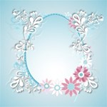 Blue Flower Theme kits