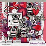 Love Bandit Scrap Kit