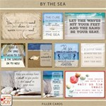 By the Sea - Filler Cards