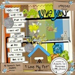 Love You Pets  - 16 Pages!