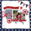 Sscraps 4th July Layout 2