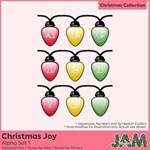 Christmas Joy - Alpha Set 1
