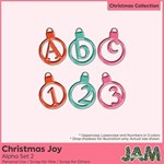 Christmas Joy - Alpha Set 2