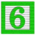 green_alpha_num_6