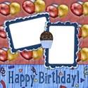 birthday layout 1