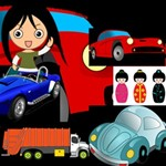 Girls & Trucks & Cars
